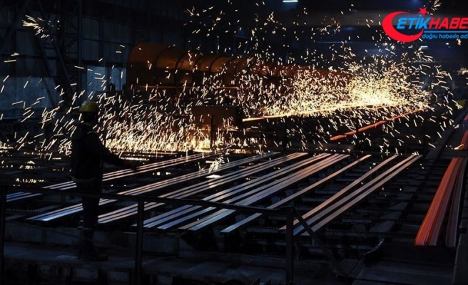 Sanayi üretimi bir önceki aya göre yüzde 4,3 arttı