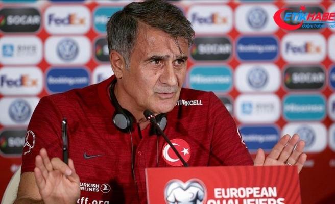 Şenol Güneş: Hem güzel bir oyun hem de gol atmayı bekliyoruz