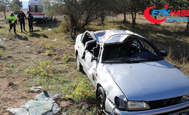 Sivas'ta iki trafik kazasında 7 kişi yaralandı