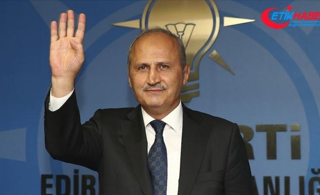 Ulaştırma ve Altyapı Bakanı Turhan: Hedeflerimize milletimizle beraber yürüyeceğiz