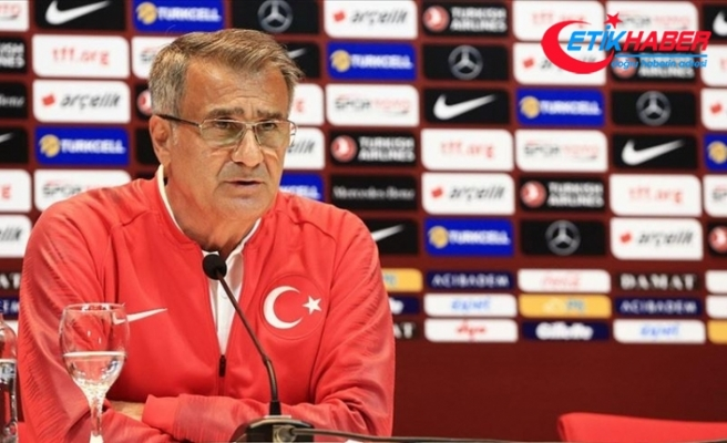 A Milli Futbol Takımı Teknik Direktörü Güneş: Türkiye figüran değil, biz büyük bir ülkeyiz