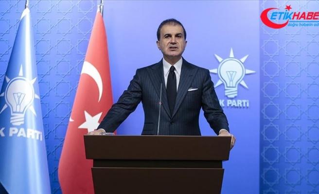 AK Parti Sözcüsü Çelik: DEAŞ'a karşı yapılan neyse PYD/YPG ve PKK'ya karşı da yapılmalı