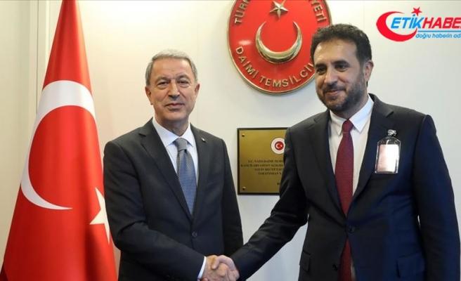 Akar, Afganistan Savunma Bakanı Khalid ile görüştü