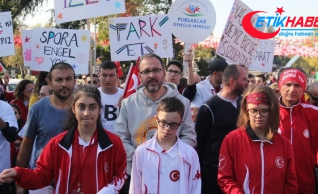"""Bakan Kasapoğlu: """"Engelli sporcularımız ve engelli arkadaşlarımız bizler için çok değerli"""""""