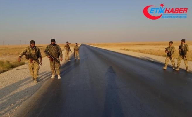 Barış Pınarı Harekatı'nda stratejik M4 kara yoluna ulaşıldı