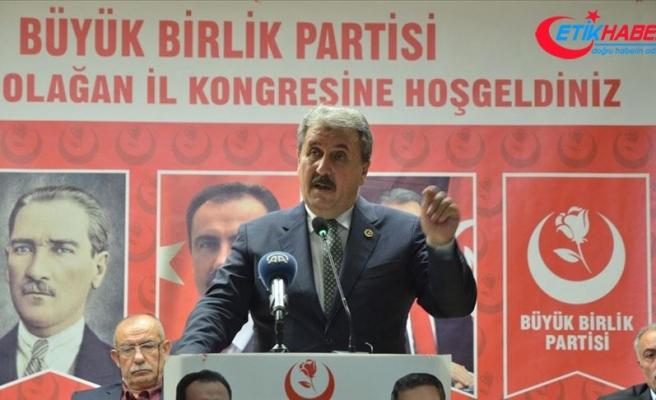 BBP Genel Başkanı Destici: Mutabakat metni Türkiye'nin kazanımıdır