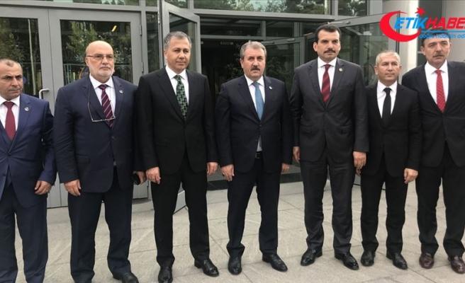 BBP Genel Başkanı Destici: PKK, PYD, YPG bunları bir günde ezer geçeriz