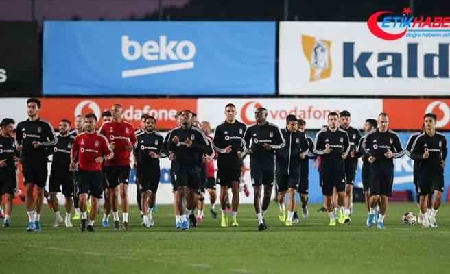 Beşiktaş Braga maçı hazırlıklarına başladı