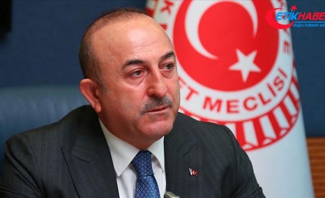 Çavuşoğlu: ABD'de Türkiye'ye karşı alınan kararın sebebi Suriye'de oyunu bozmamızdır