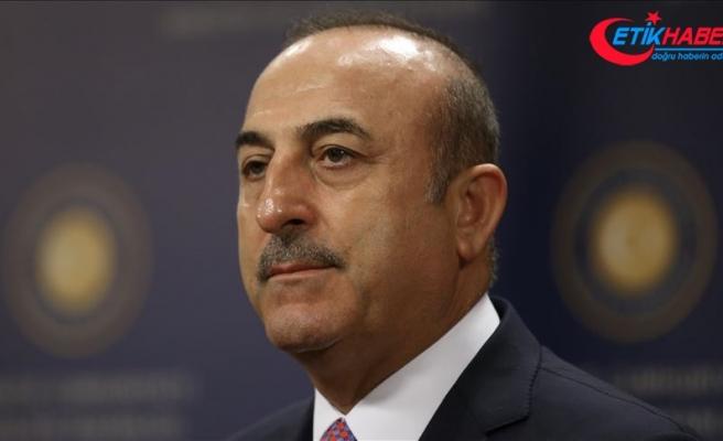 Çavuşoğlu: İtalyadan PYD/YPG'ye karşı daha çok dayanışma ve yardım bekliyoruz'