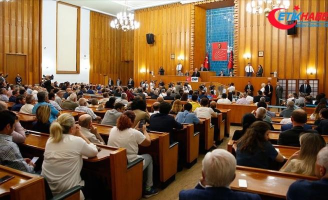 CHP yasa teklifleri ve Barış Pınarı Harekatı'nı görüştü
