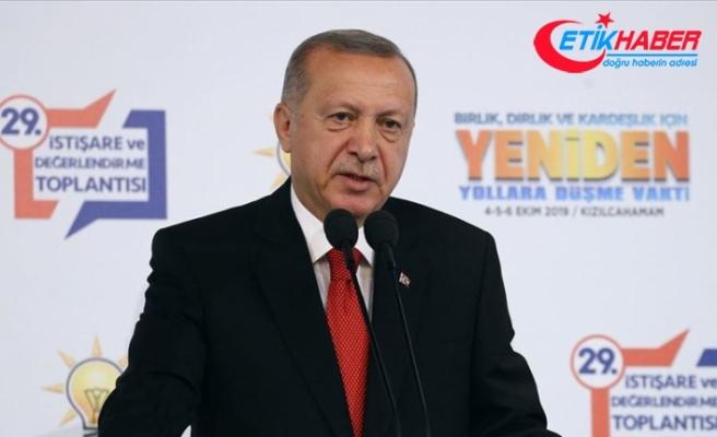 Cumhurbaşkanı Erdoğan: Belki bugün, belki yarın denebilecek kadar yakındır