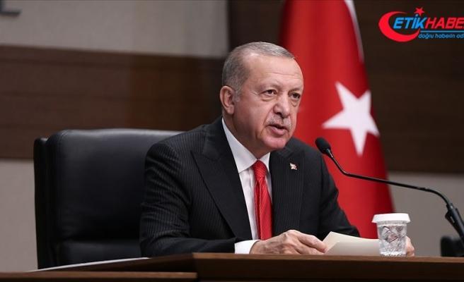 Cumhurbaşkanı Erdoğan: Dünyada barışa ve dostluğa önemli katkılarda bulunacak