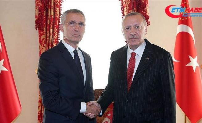 Cumhurbaşkanı Erdoğan Stoltenberg'i kabul etti