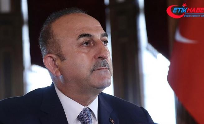 Dışişleri Bakanı Çavuşoğlu: Barış Pınarı Harekatı ile büyük bir oyunu bozduk