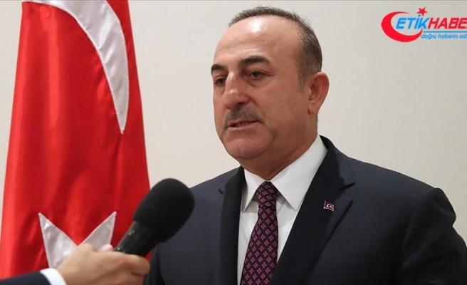 Dışişleri Bakanı Çavuşoğlu: Terörist Mazlum Kobani ile müttefiklerimizin görüşmesi kabul edilemez