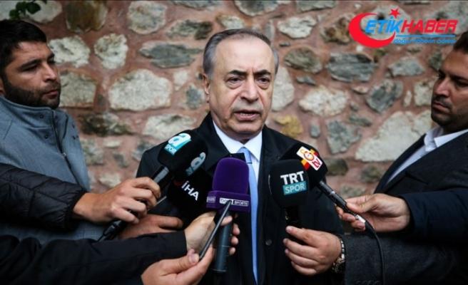 Galatasaray Kulübü Başkanı Cengiz: Fatih Terim ile aramızda en ufak bir sorun yok