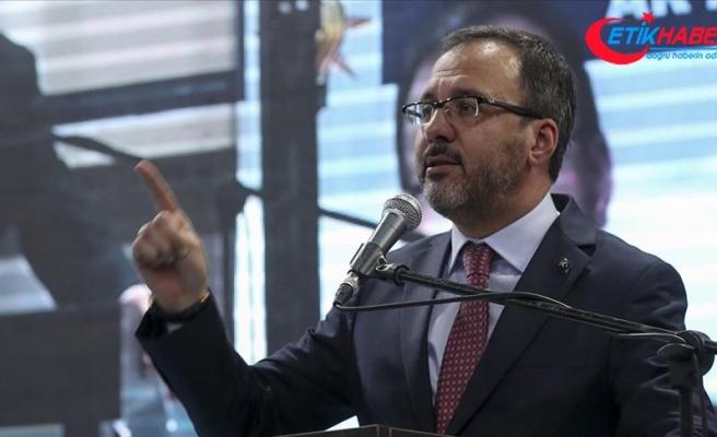 Gençlik ve Spor Bakanı Kasapoğlu: Bize demokrasi dersi vermeye kalkanlara hukukla yaklaşacağız