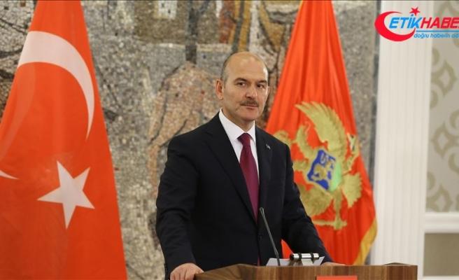İçişleri Bakanı Soylu: Terör koridoruna müsamaha göstermeyeceğiz