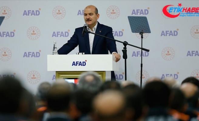 İçişleri Bakanı Süleyman Soylu: Bir afet durumunda herkes ne yapacağını bilecek