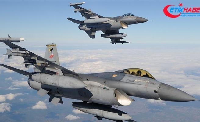 Irak'ın kuzeyinde 17 terörist etkisiz hale getirildi