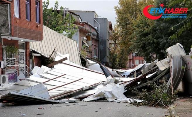 İstanbul'da kuvvetli fırtına ve sağanak