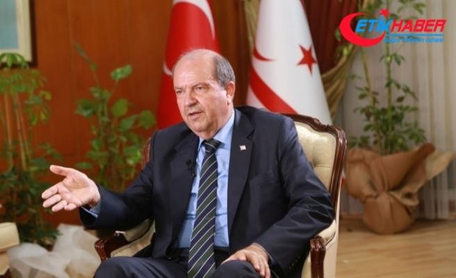 """KKTC Başbakanı Tatar: """"Türkiye'den gelen suyun geri dönüştürülüp kullanılması şart"""""""