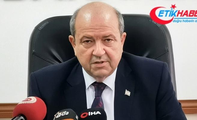 KKTC Başbakanı Tatar'dan Cumhurbaşkanı Akıncı'ya kınama