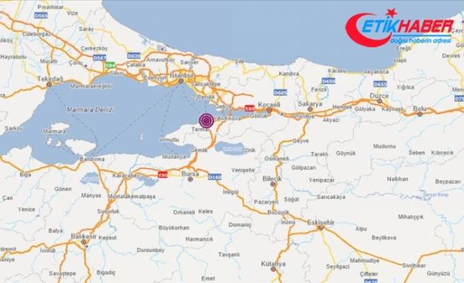 Marmara Denizi'nde 4,0 büyüklüğü deprem