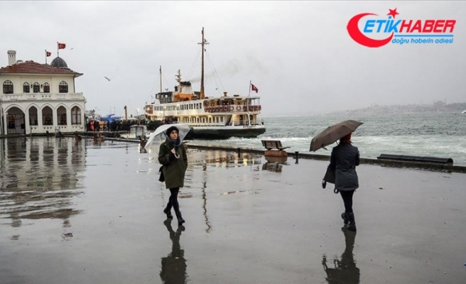 Marmara'da yağışlı hava etkili olacak