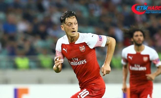 Mesut Özil: Kontratım bitene kadar buradayım