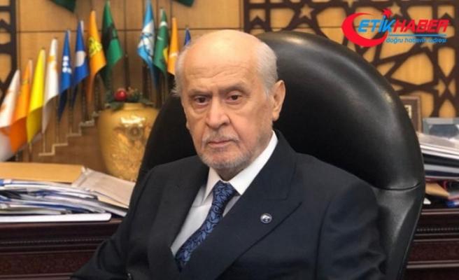 MHP Lideri Devlet Bahçeli mesaiye başladı