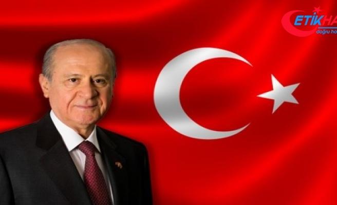 MHP Lideri Bahçeli: ABD'deki zirve görüşmesinden çıkacak sonuç ne olursa olsun Türkiye tek yürektir