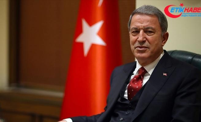 Milli Savunma Bakanı Akar: Mehmetçik'in morali çok yüksek