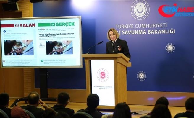MSB: Barış Pınarı Harekatı'nda kimyasal silah kullanılmamaktadır