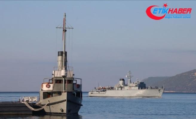 NATO gemileri Çanakkale'de