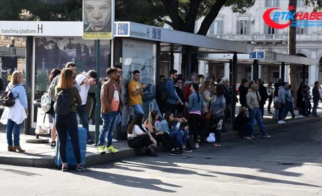 Roma'da belediye işçilerinin 24 saatlik grevi hayatı olumsuz etkiledi