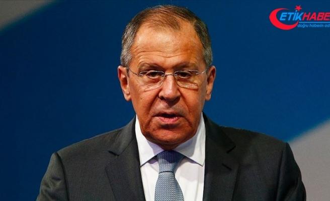Rusya Dışişleri Bakanı Lavrov: Türkiye'nin sınır güvenliğiyle ilgili endişelerini anlıyoruz