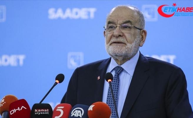 Saadet Partisi Genel Başkanı Karamollaoğlu: Hükümetin gösterdiği kararlılığı destekleriz