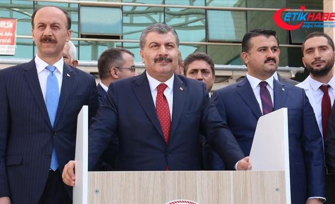Sağlık Bakanı Koca: Operasyon bölgesinde ihtiyaç duyan herkesin yanındayız