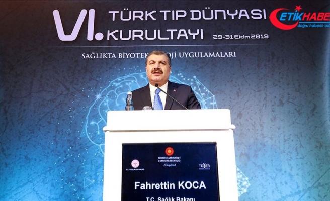 Sağlık Bakanı Koca: Türkiye Genom Projesi resmen başladı
