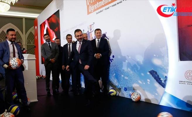 Selçuk ve Kasapoğlu, Öğretmenler Kupası'nı tanıttı