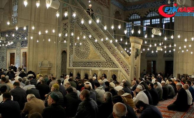 Selimiye Camisi'nde Mehmetçik için dua edildi