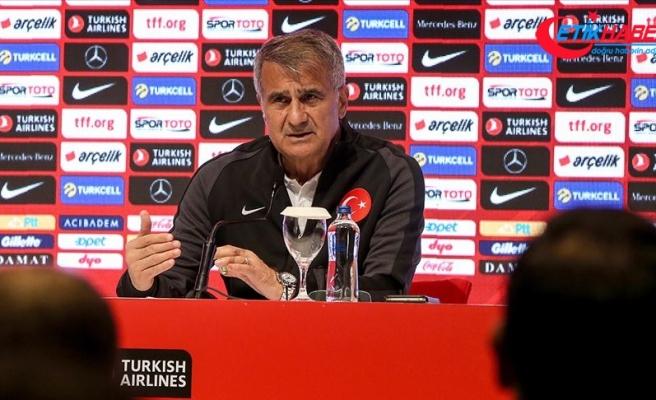 Şenol Güneş: Dört maçın en önemlisi Arnavutluk karşılaşması