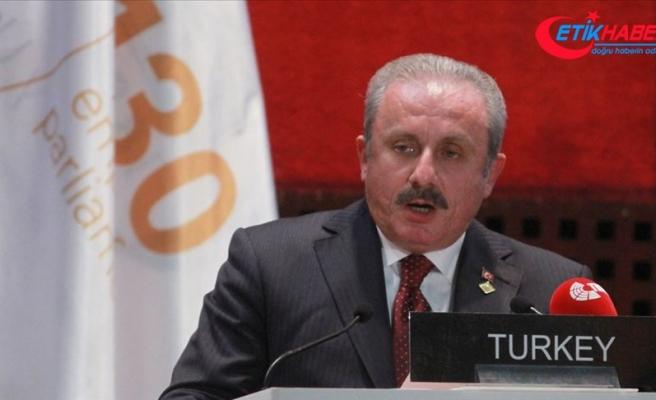 TBMM Başkanı Şentop: Barış Pınarı Harekatı hedefine uygun şekilde devam ediyor
