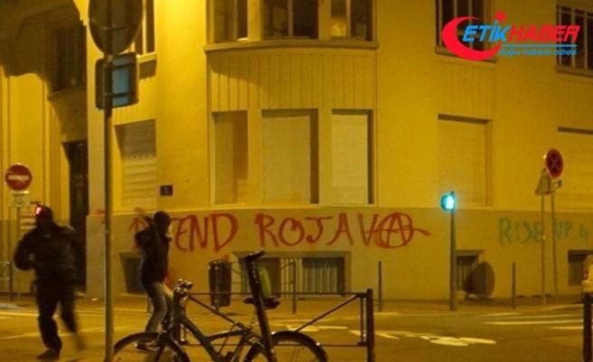 Türkiye'nin Lyon Başkonsolosluğuna çirkin saldırı