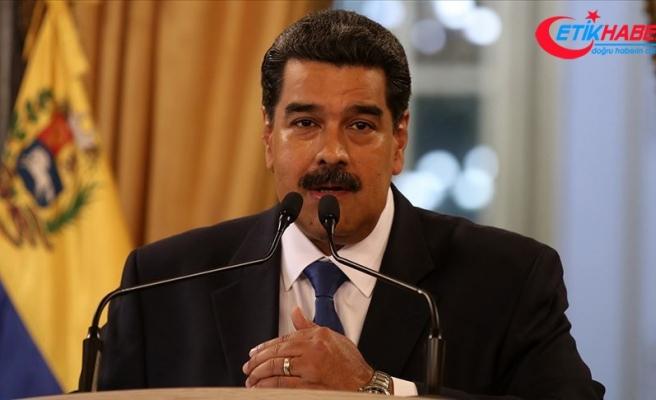 Venezuela Devlet Başkanı Maduro: Küresel güçlerin önünde diz çökmemeliyiz