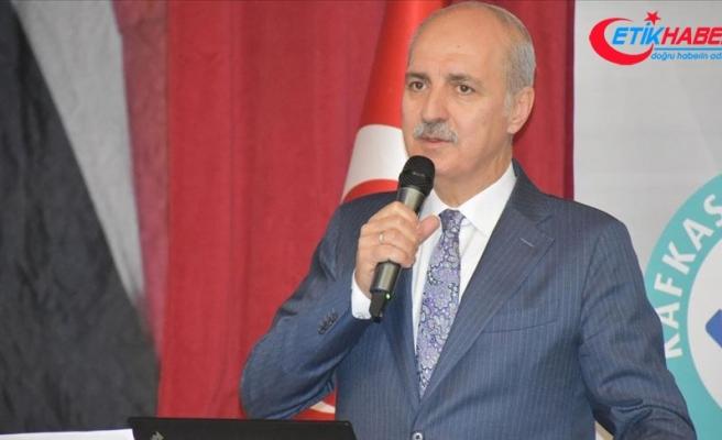 AK Parti Genel Başkanvekili Kurtulmuş: Bu coğrafyayı yeniden dağıtmak ve parçalamak istiyorlar