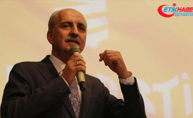 AK Parti Genel Başkanvekili Kurtulmuş: Suriye'nin toprak bütünlüğünü temin etmek istiyoruz