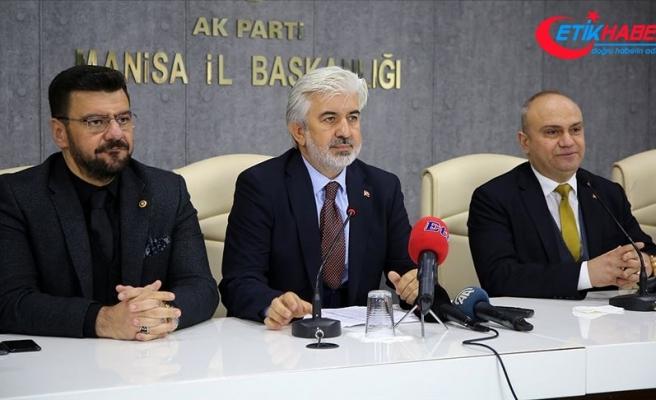 AK Parti Manisa İl Başkanlığında Salih Hızlı görevi devraldı